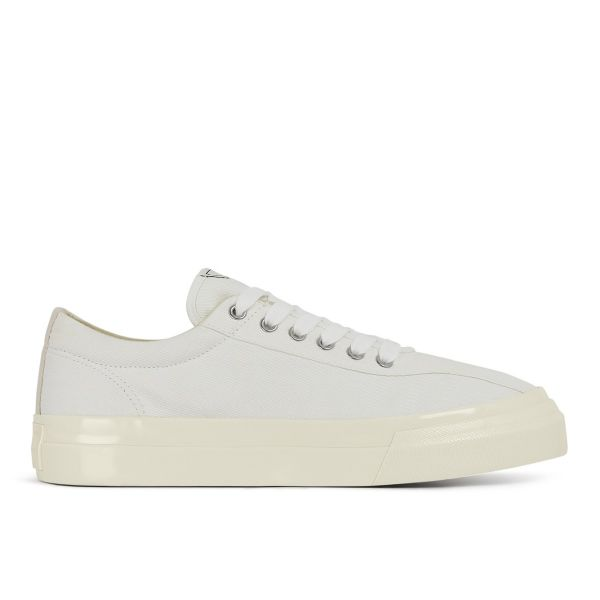Mens Dellow Canvas White Side