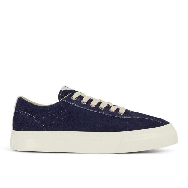 Mens Dellow Hairy Suede Ink Side