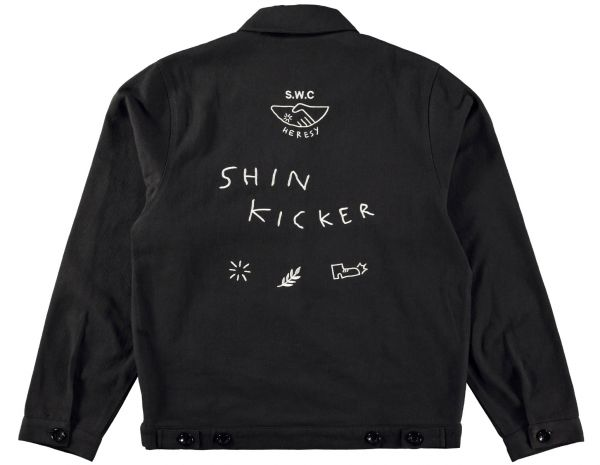 S.W.C & HERESY 'SHIN KICKER' JACKET Back