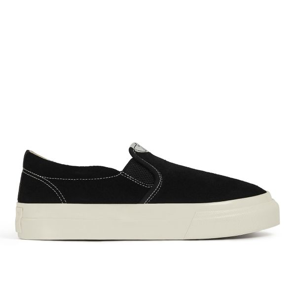 Womens Lister Suede Black Side
