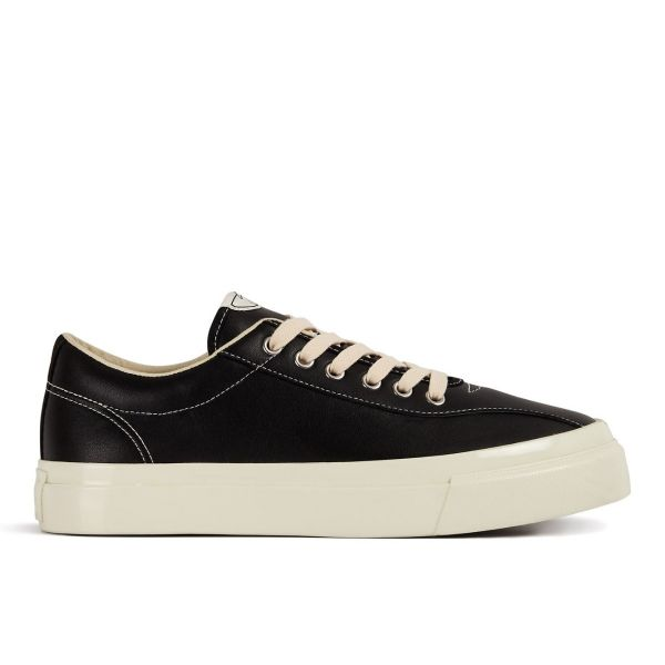 Womens Dellow Leather Black Side
