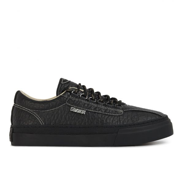Stepney Workers Club Unisex Trainers Dellow Ramble Tumbled Black Side