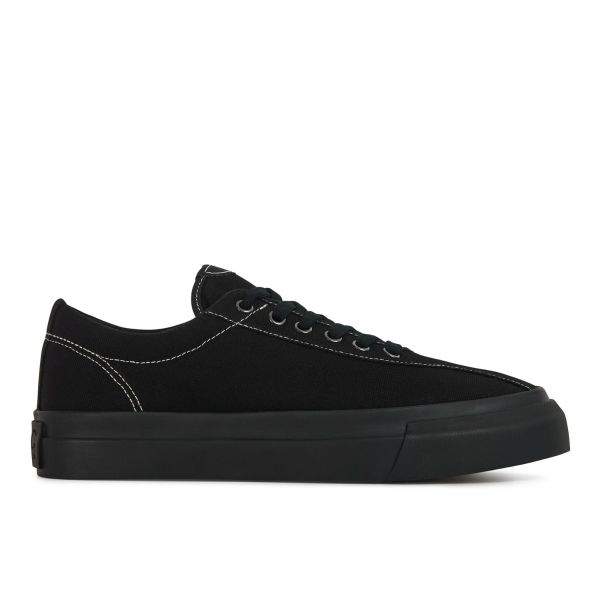 Unisex Dellow Canvas Matt Black Sneaker Side