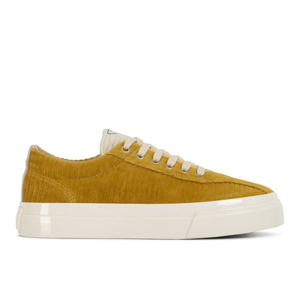 Stepney Workers Club Unisex Trainers Dellow Grand Cord Honey Side