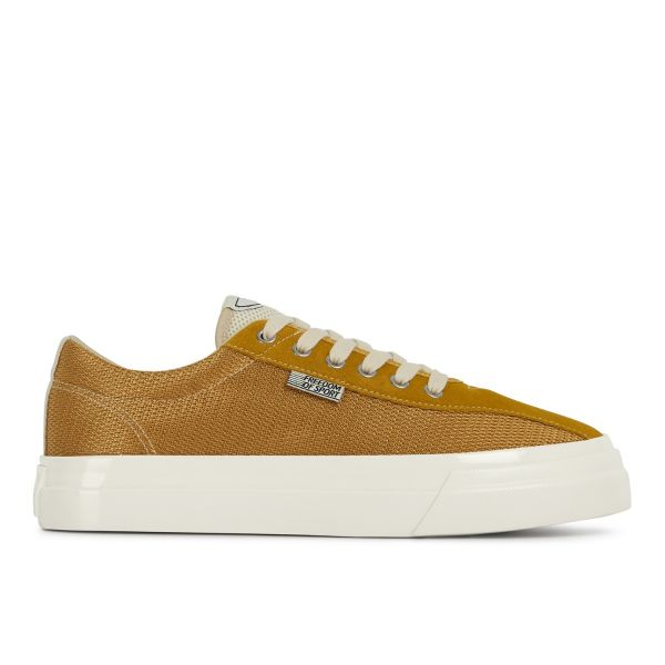 Unisex Stepney Workers Club Dellow Track Mesh Honey Sneaker Side