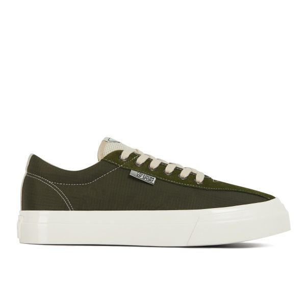 Unisex Stepney Workers Club Dellow Track Nylon Olive Sneaker Side