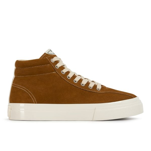 Stepney Workers Club Unisex Trainers Varden Suede Tan Side