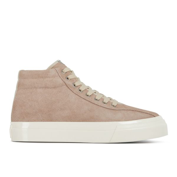 Unisex Stepney Workers Club Varden Hairy Suede Pink Sneaker side