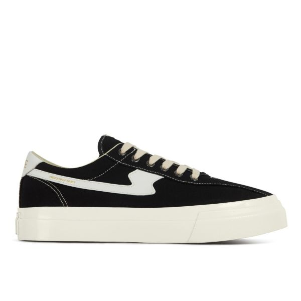 Unisex Stepney Workers Club Dellow S-Strike Canvas Black Sneaker Side