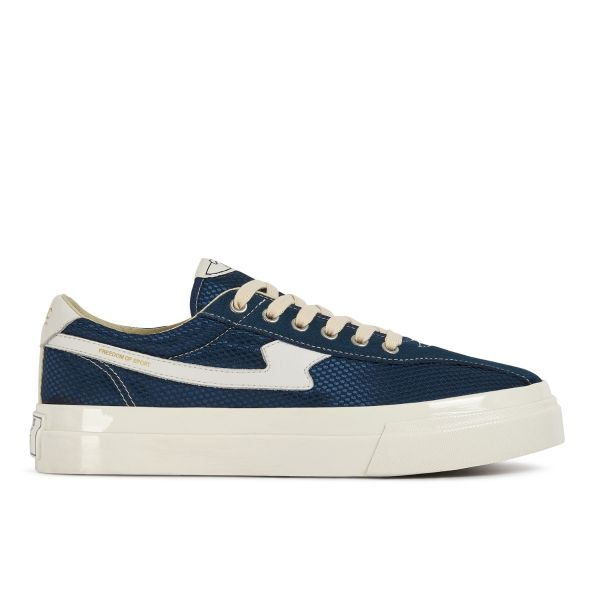 Stepney Workers Club Unisex Trainers Dellow S-Strike Track Mesh Navy Side