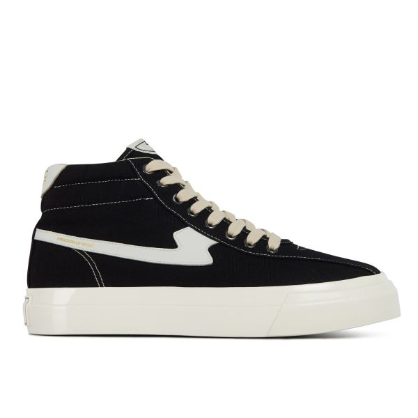 Unisex Stepney Workers Club Varden S-Strike Canvas Black Sneaker Side