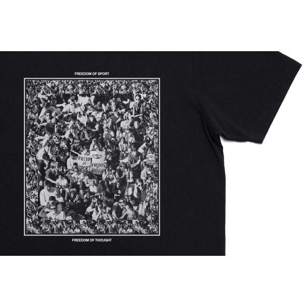Stepney Workers Club Crowd T-shirt Black Detail