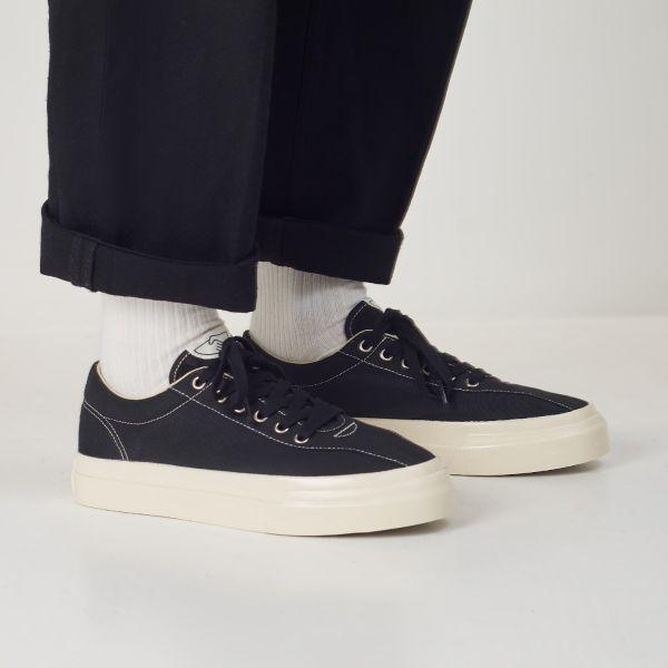 Unisex Stepney Workers Club Dellow Canvas Black Sneaker Lifestyle