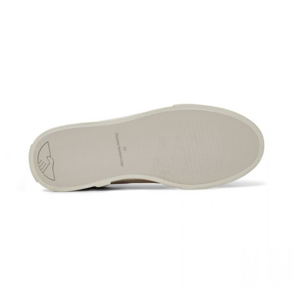 Stepney Workers Club Unisex Trainers Dellow Ramble Tumbled White Sole