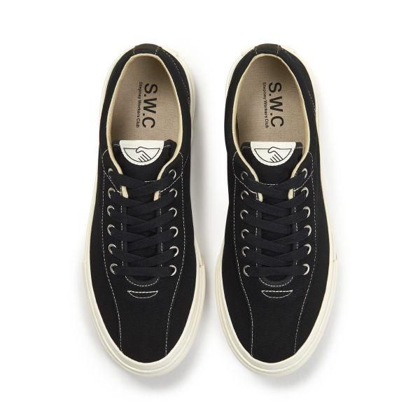 Unisex Stepney Workers Club Dellow Canvas Black Sneaker Top