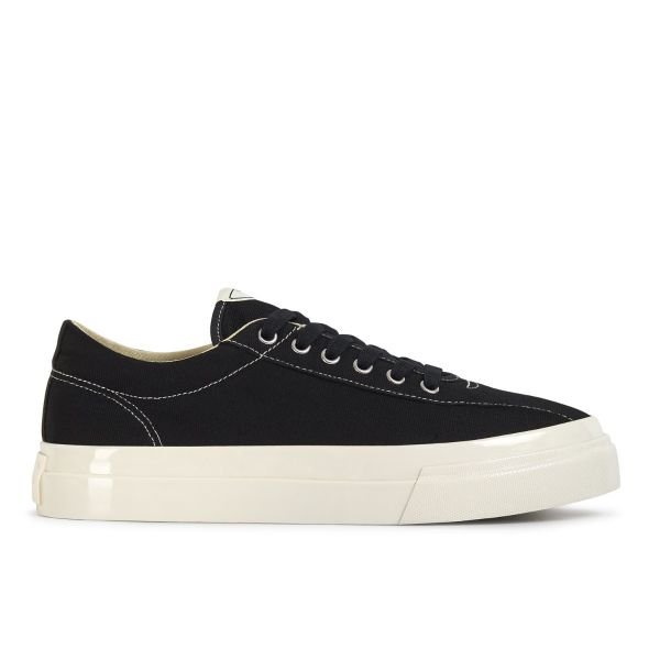 Unisex Stepney Workers Club Dellow Canvas Black Sneaker