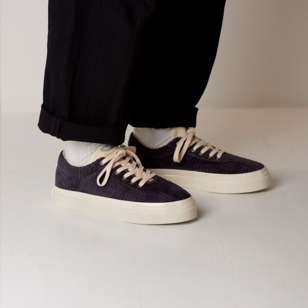 Stepney Workers Club Unisex Trainers Dellow Grand Cord Smoke Lifestyle