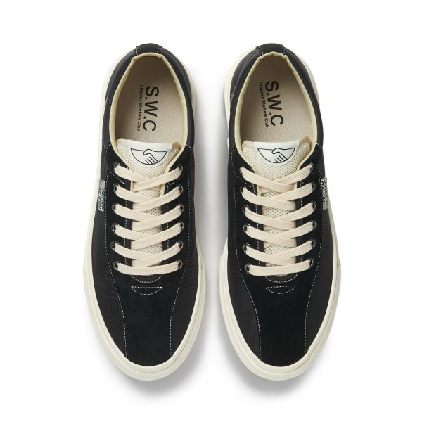 Unisex Stepney Workers Club Dellow Track Nylon Black Sneaker Top
