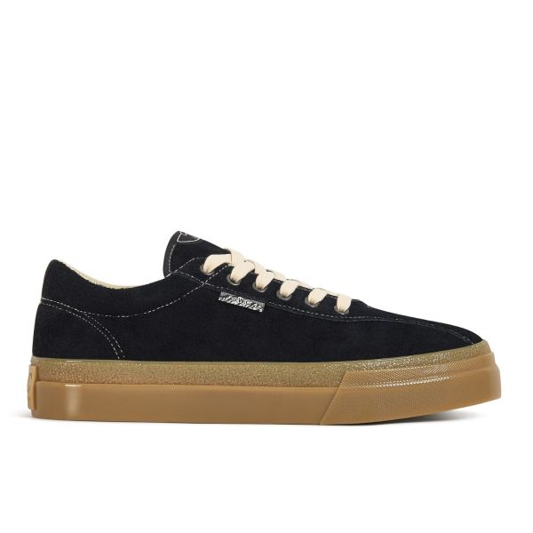 Stepney Workers Club Unisex Trainers Dellow Raw Suede Black/Gum Side