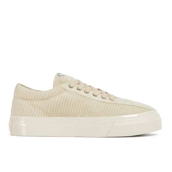 Stepney Workers Club Unisex Trainers Dellow Grand Cord Ecru Side