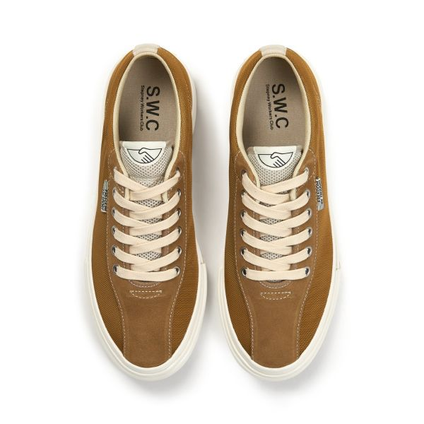 Stepney Workers Club Unisex Trainers Dellow Track Nylon II Gold Top