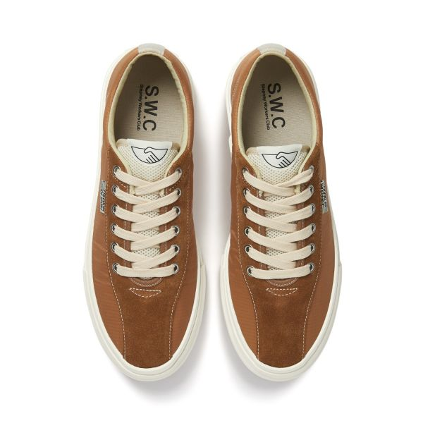 Unisex Stepney Workers Club Dellow Track Nylon Clay Sneaker Top