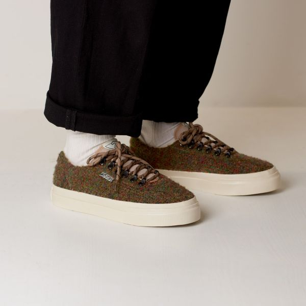 Stepney Workers Club Unisex Trainers Dellow Ramble Boucle Meadow Lifestyle