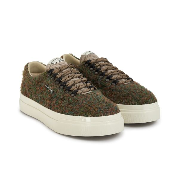 Stepney Workers Club Unisex Trainers Dellow Ramble Boucle Meadow Three Quarter