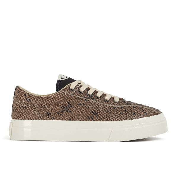 Stepney Workers Club Unisex Trainers Dellow Trophy Fauna Suede Snake Side