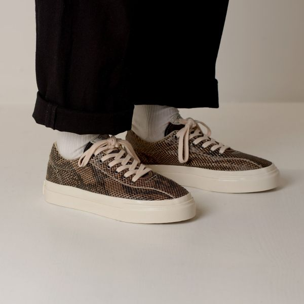 Stepney Workers Club Unisex Trainers Dellow Trophy Fauna Suede Snake Lifestyle