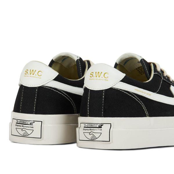 Unisex Stepney Workers Club Dellow S-Strike Canvas Black Sneaker detail