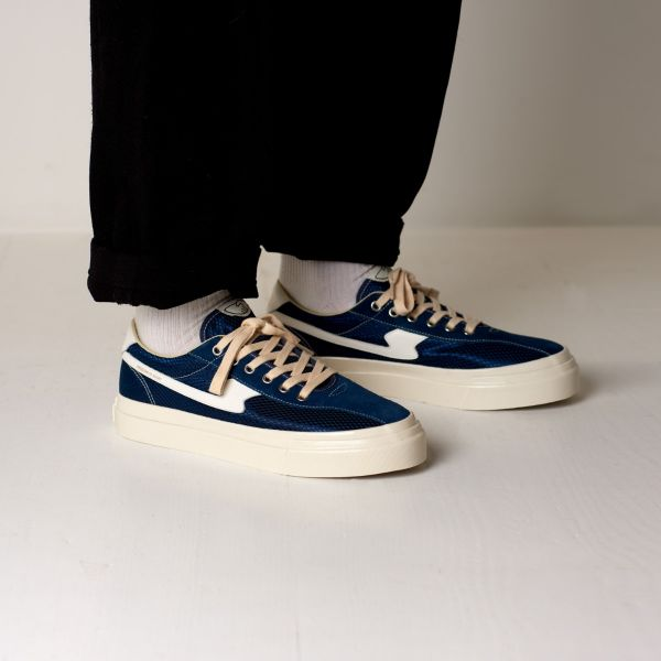 Stepney Workers Club Unisex Trainers Dellow S-Strike Track Mesh Navy Lifestyle
