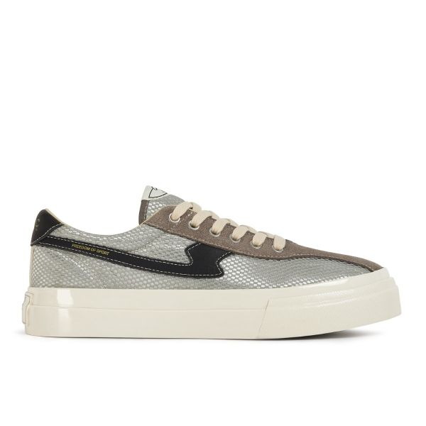 Stepney Workers Club Unisex Trainers Dellow S-Strike Track Mesh Silver Side