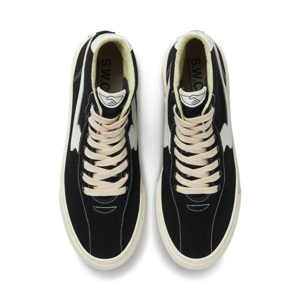 Unisex Stepney Workers Club Varden S-Strike Canvas Black Sneaker Top