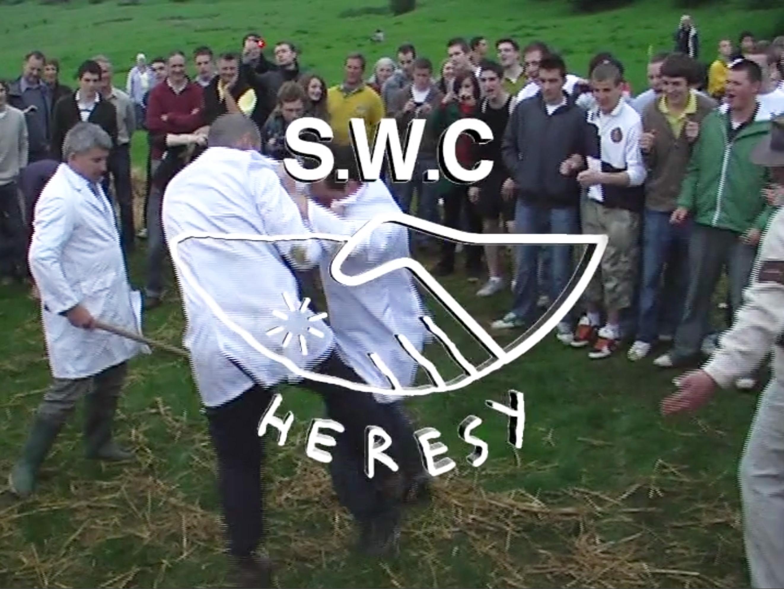 S.W.C & Heresy 'SHIN KICKER'